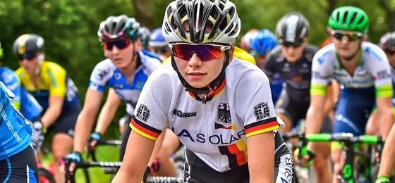 Liane Lippert wird Europameisterin: Sensationeller Titelgewinn im Straßenrennen der Juniorinnen