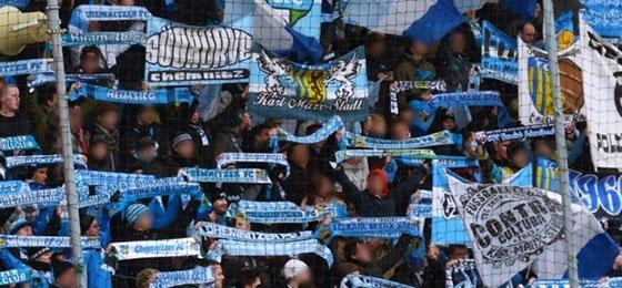 Chemnitzer FC gegen Fortuna Köln