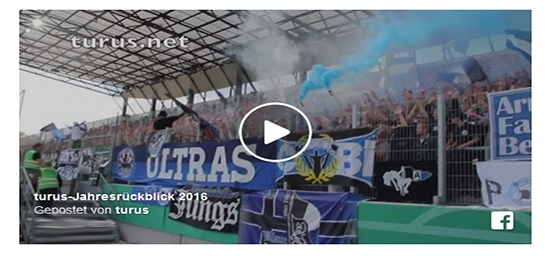 Video-Jahresrückblick 2016: Fans, Ultras und Aktionen