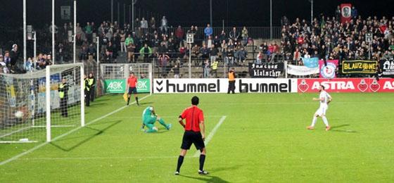 SV Babelsberg 03 vs. FC Carl Zeiss Jena: Zwei Platzverweise, dramatische Schlussphase