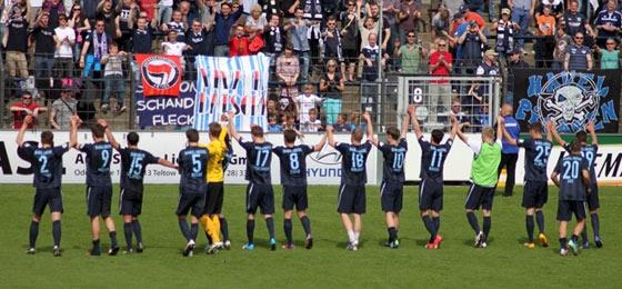 Babelsberg 03 feiert 3:1-Sieg