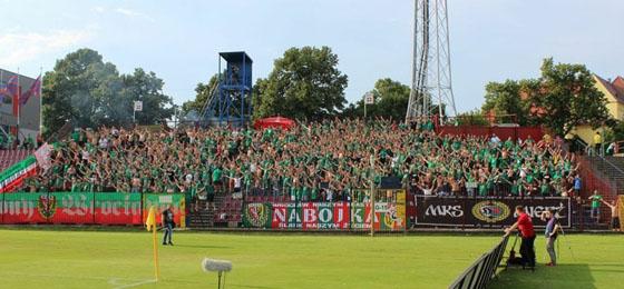 Enttäuschender Auftritt von Slask Wroclaw vor eintausend Mitgereisten