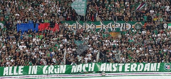 Rapid Wien vs. Ajax Amsterdam: Kainz und Berič halten Österreichs Vizemeister im Rennen