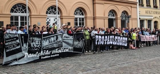 Paulshöhe erhalten! Demonstration durch Schwerin setzt kraftvolles Zeichen