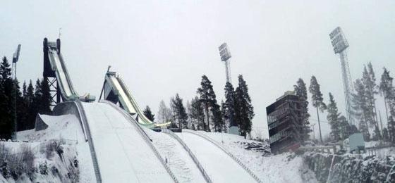 Nordische Ski WM 2015: Vorbereitungen im schwedischen Falun im vollen Gange