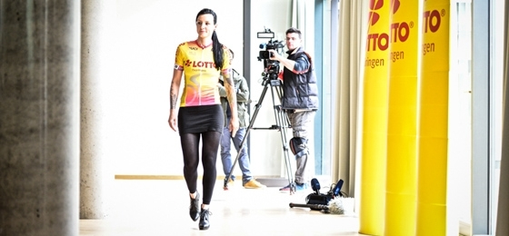 30. Lotto Thüringen Ladies Tour – Kick Off im Studiopark