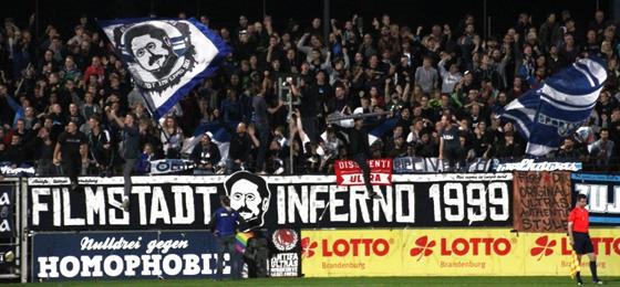 Tor mit Ansage: Babelsberg 03 gewinnt verrücktes Spiel gegen die Hertha Bubis