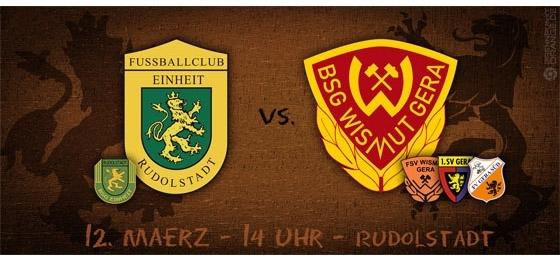 Ostthüringenderby in der Oberliga: Vorschau auf Einheit Rudolstadt vs. Wismut Gera