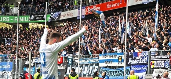 Duisburg vs. Frankfurt: Erst Grottenkick und Aufholjagd, dann Liebesentzug