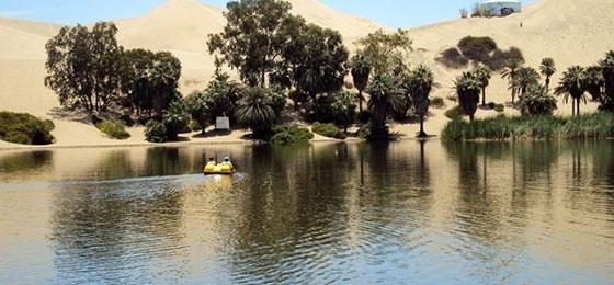 Vorgestellt: Laguna de Huacachina in Peru