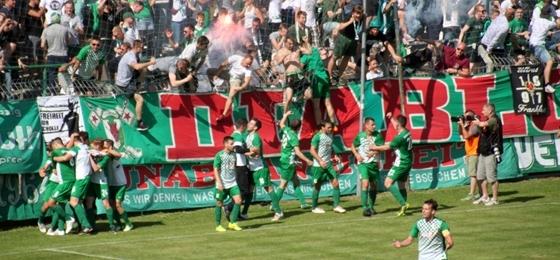 BSG Chemie Leipzig vs. VfB Empor Glauchau: Leutzscher Aufstiegsrausch hoch drei