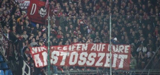 Protest der FCK Fans