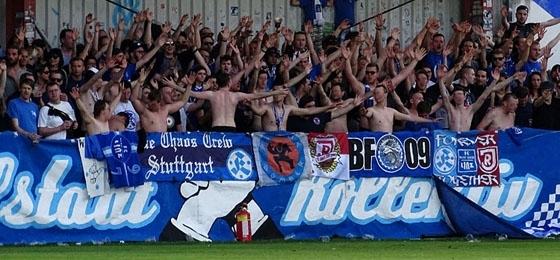 Zurück In Der Zweitklassigkeit Blau Weiß Linz Feiert Meisterschaft