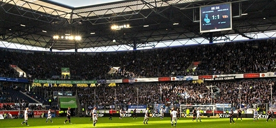 MSV Duisburg gegen Union Berlin