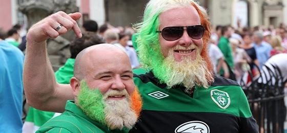 """Alle Jahre wieder """"Greenings"""" am St. Patrick's Day"""