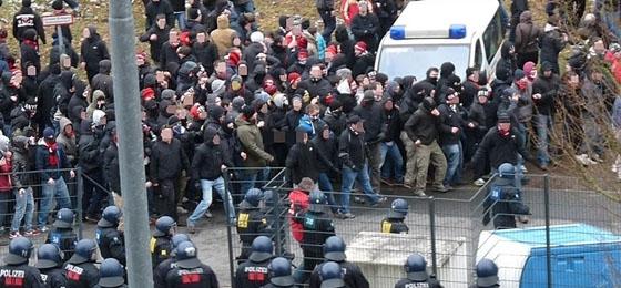 Eintracht Frankfurt vs. 1. FC Nürnberg: Was genau passierte am Gästeblock?