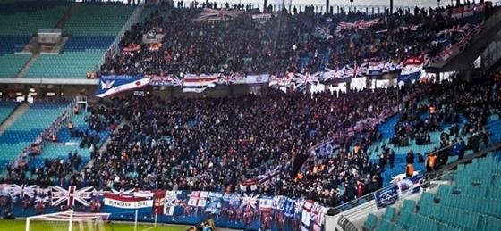 RB Leipzig vs. Glasgow Rangers: Feuchtfröhliche Spritztour im Schneegestöber