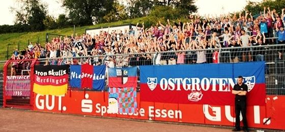 KFC Uerdingen siegt beim ETB, Ultras Krefeld sind zurück