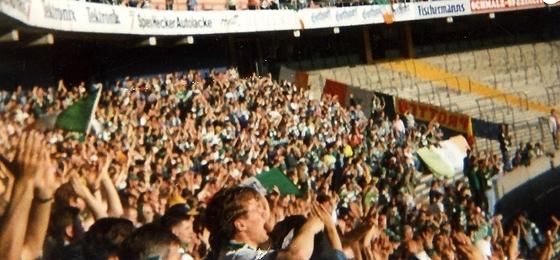 Der letzte EC-Auftritt des 1. FC Köln: Als Celtic Glasgow zu Gast in Müngersdorf war