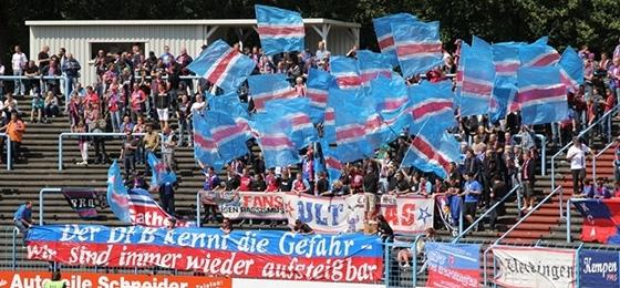 Westfalia Herne gegen KFC Uerdingen 2011
