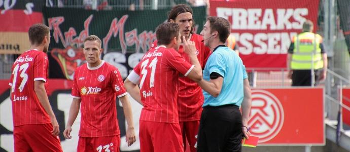 FIFA-Schiri aus Luxemburg stoppt RWE-Siegesserie