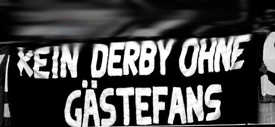 Preußen Münster Fans zeigen Spruchbänder gegen Gästeverbot