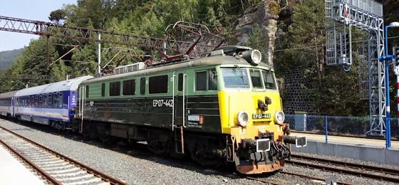Von Orle nach Orle: Mit der Eisenbahn durch das Riesengebirge