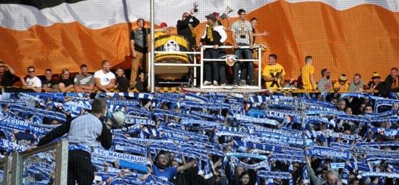 SG Dynamo Dresden vs. 1. FC Magdeburg: Geglücktes Projekt X, gescheiterte Gäste-Choreo