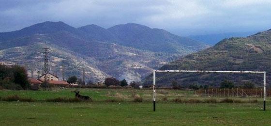 Bulgarien Fußballplatz