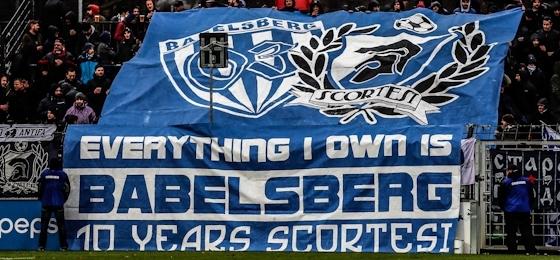 SV Babelsberg 03 vs. BFC Dynamo: Weinrote Erinnerungen an 2007, Nulldrei feiert 10 Jahre Scortesi