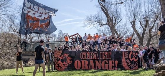 Ganz Gera ist orange: BSG Wismut Gera packt den Einzug ins Pokalfinale!