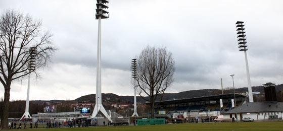 Abbe-Sportfeld in Jena
