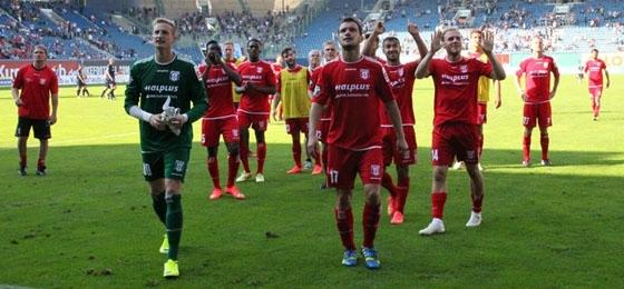 F.C. Hansa Rostock vs. Hallescher FC: Verbalgefechte und verdienter Gästesieg