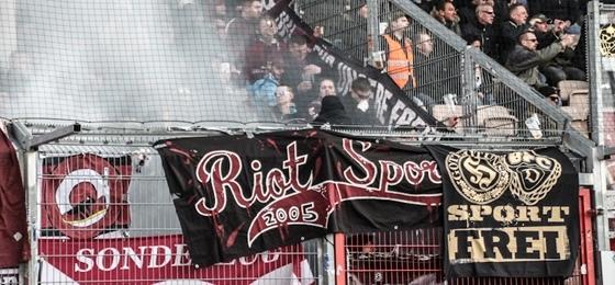 Energie Cottbus vs. BFC Dynamo: Keine Punkte für Weinrot, saufen bis zum Koma-Tod