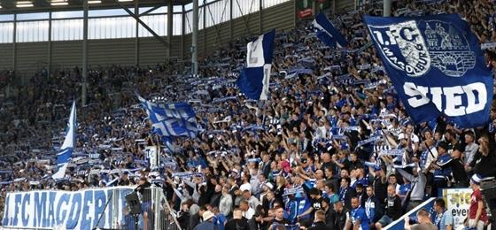 "Das ""Vorwärts Magdeburger Jungs!"" verstummt: Heimspiel gegen HFC vor leeren Rängen"