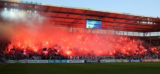 1. FC Magdeburg vs. Hallescher FC: Der blau-weiße Pokaltraum erlosch beim Elfmeterschießen