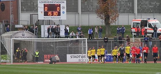 Ruhrpottderby extra light: Schalke und Dortmund in der Lohrheide