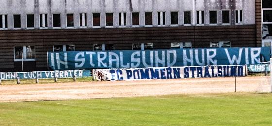 FC Pommern Stralsund: Überaus trauriger Abschied nach bewegten Zeiten