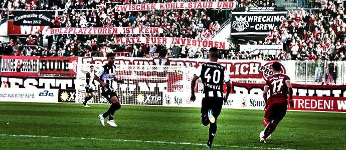 Rot-Weiss Essen gegen TV Herkenrath 09
