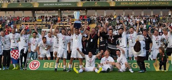 Saison der Underdogs: BFC Preussen gewinnt den Berliner Landespokal