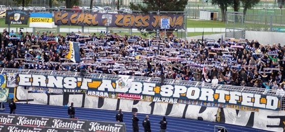 Nägel mit Köpfen: Der Kampf der FCC-Fans um die Südkurve des Ernst-Abbe-Sportfeldes