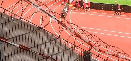 Polizei und Stacheldraht, 1965 Meter im Quadrat: Der F.C. Hansa Rostock siegt 1:0 in Erfurt!