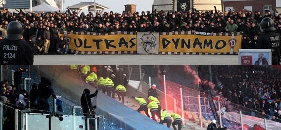 Hansa Rostock vs. Dynamo Dresden: Marsch in Warnemünde und Spielunterbrechung