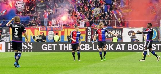 FC Basel vs. BSC Young Boys: Unterhaltung auf den Rängen, Heimsieg auf dem Rasen