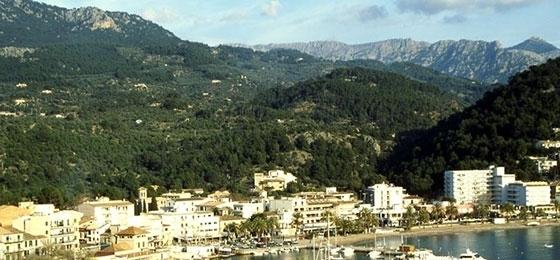 Port de Sóller auf Mallorca