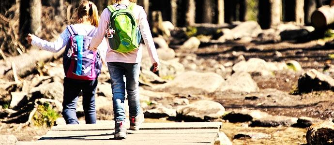 Kinder auf Reisen und trotzdem immer im Blick behalten