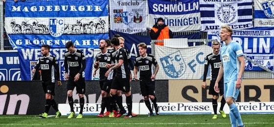 Dritter Sieg in Folge: Der 1. FC Magdeburg lässt sich auch von Chemnitz nicht bremsen
