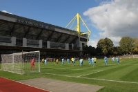BVB II vs. Chemnitzer FC: Himmelblauer Sieg in der Roten Erde