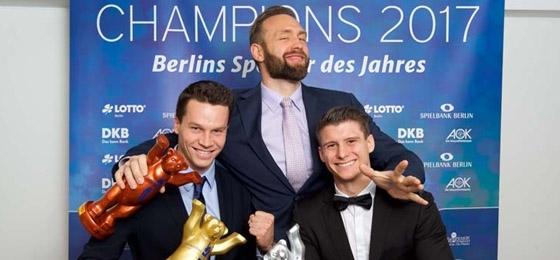 Berlins Champions 2017 im passenden Rahmen geehrt: Große Überraschungen blieben aus