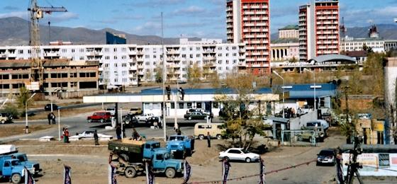 Ulaanbaatar im Herbst 2000: offene Gullys, Bergtouren und Geschlechtsakte im Museum